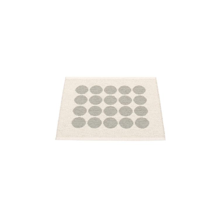 Pappelina matta Fia Warm grey · Vanilla 70x60 cm
