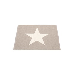Pappelina matta Viggo Small One Mud · Vanilla 70x90 cm