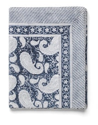Chamois Big Paisley® duk Navy Blue
