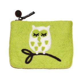Klippan Yllefabrik filtad börs Tree owl