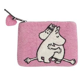 Klippan Yllefabrik filtad börs Moomin Love