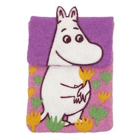 Klippan Yllefabrik iPad-fodral Moomin rosa