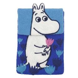Klippan Yllefabrik iPad-fodral Moomin blå