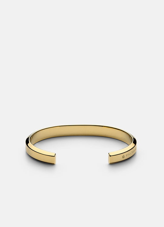 Skultuna Icon Cuff armband guld small