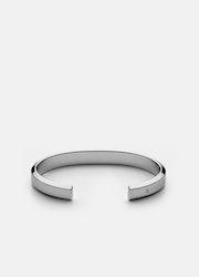Skultuna Icon Cuff armband polerat stål medium