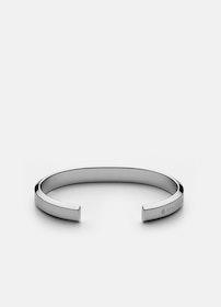 Skultuna Icon cuff armband stål medium