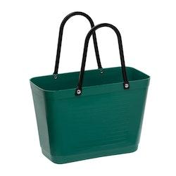 Hinzaväska liten Mörkgrön, Green Plastic