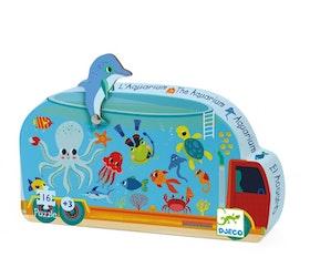 Djeco siluettpussel Aquarium