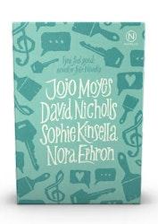 Novellix presentask - Fyra Feel good noveller