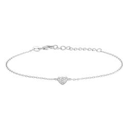Joanli Nor armband Alma heart silver