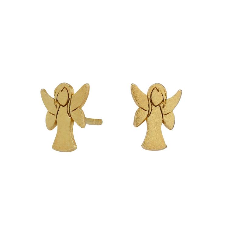 Nordahl Jewellery örhängen Guardian Angel guld