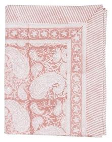Chamois Big Paisley® duk Fuchsia Rose