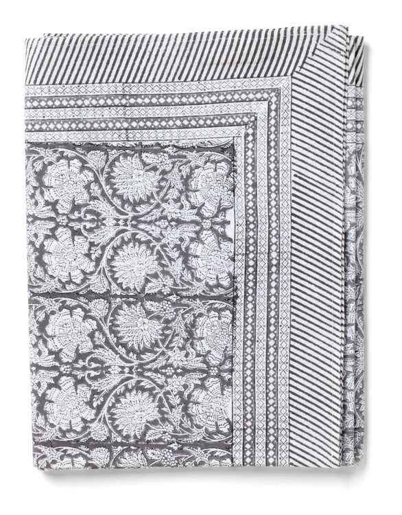 Chamois Paradise duk cotton Grey