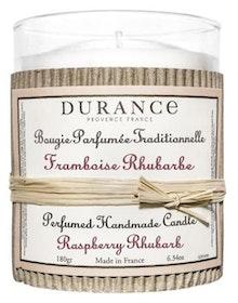 Durance doftljus Raspberry & Rhubarb