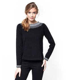 Jumperfabriken Christina jumper black