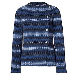 Jumperfabriken Siv cotton cardigan blue AW20