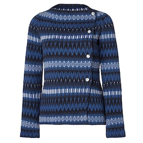 Jumperfabriken Siv cotton cardigan blue AW20