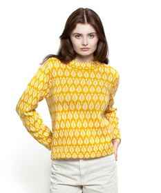 Jumperfabriken Sarali jumper yellow