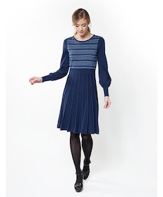 Jumperfabriken Denise dress navy