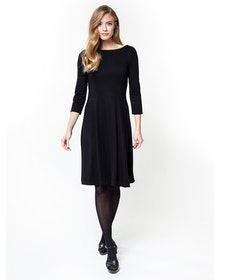 Jumperfabriken Helga dress black