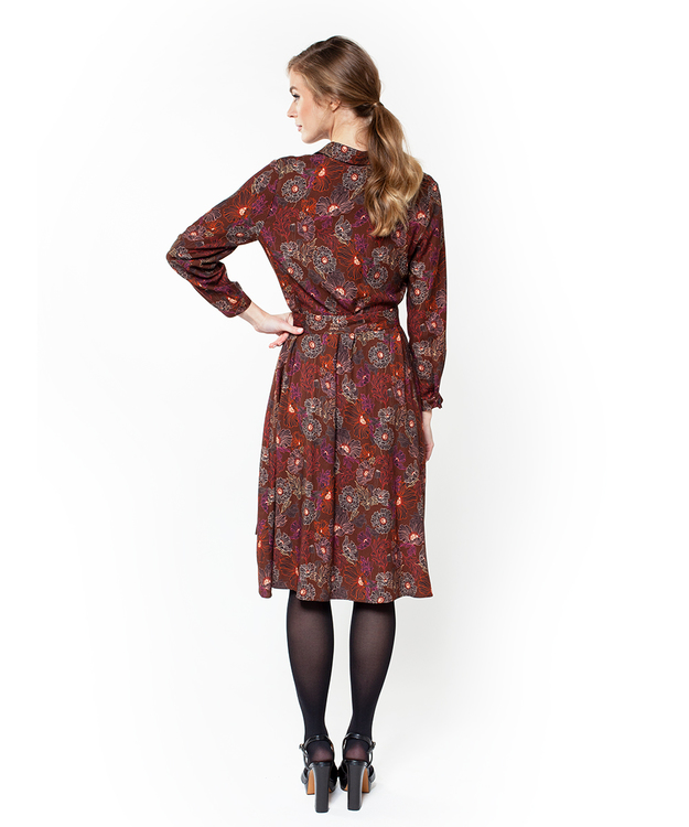 Jumperfabriken Vivian dress brown