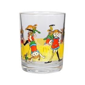 Muurla dricksglas Pippi Långstrump