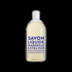Savon de Marseille Extra Pur Mediterranean see, 1 liter refill