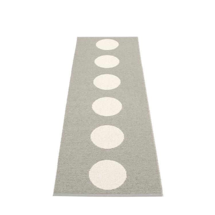 Pappelina matta Vera Warm grey · Vanilla