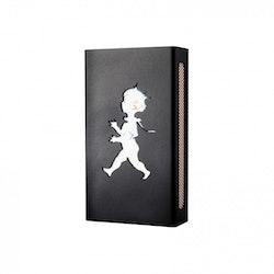 Design Kristina Stark Hommage Mini tändsticksfodral svart