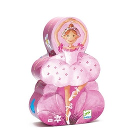 Djeco siluettpussel Ballerina