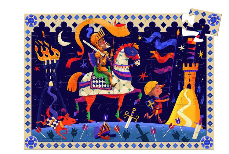 Djeco siluettpussel Don Quijote
