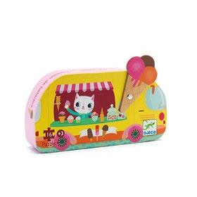 Djeco siluettpussel Ice cream truck