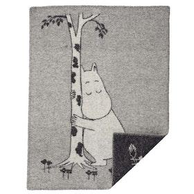 Klippan Yllefabrik ullfilt Moomin Tree Hug