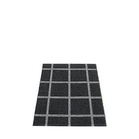Pappelina matta Ada Black · Granit metallic 70x100 cm