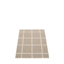 Pappelina matta Ada Dark Linen · Stone metallic 70x100 cm