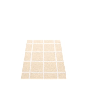 Pappelina matta Ada Cream · White metallic 70x100 cm