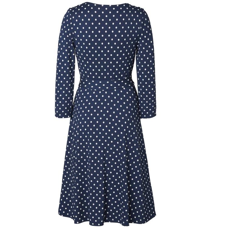 Jumperfabriken Celia Dot dress blue
