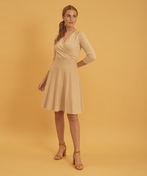 Jumperfabriken Nadja dress beige