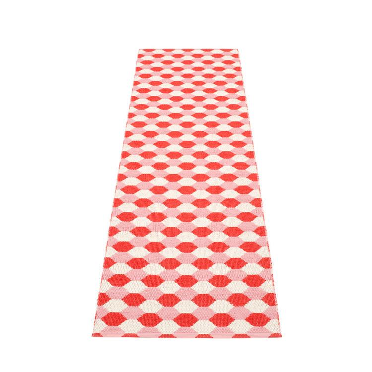 Pappelina matta Dana Coral red · Piglet · Vanilla
