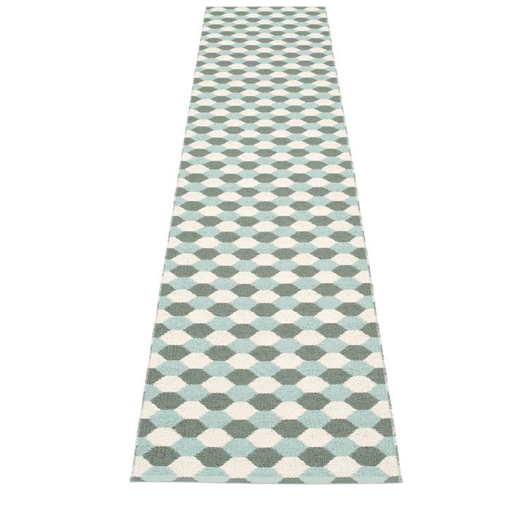 Pappelina matta Dana Army · Pale Turquoise · Vanilla