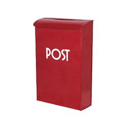 Strömshaga postlåda röd