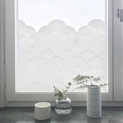 Siluett Frost fönsterfilm Clouds