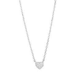 Joanli Nor halsband Alma heart silver