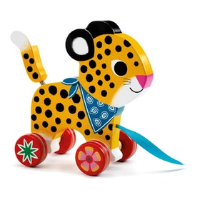 Djeco rullande leksak Greta gepard