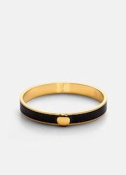 Skultuna Plain Bangle armband svart