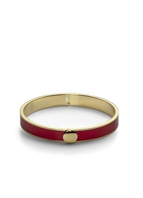 Skultuna Plain Bangle armband röd