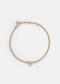 Skultuna Key Chain Bracelet armband guld