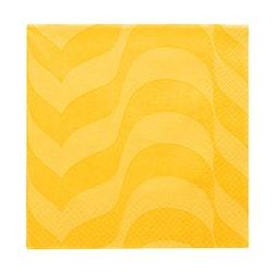 Iittala Alvar Aalto pappersservett gul