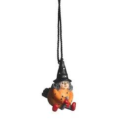 Nääsgränsgården hängande Påskkärring orange