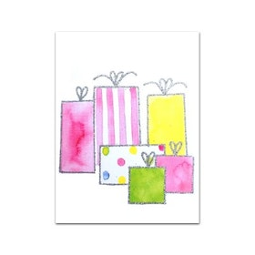 Nobhilldesigners litet kort Paket rosa